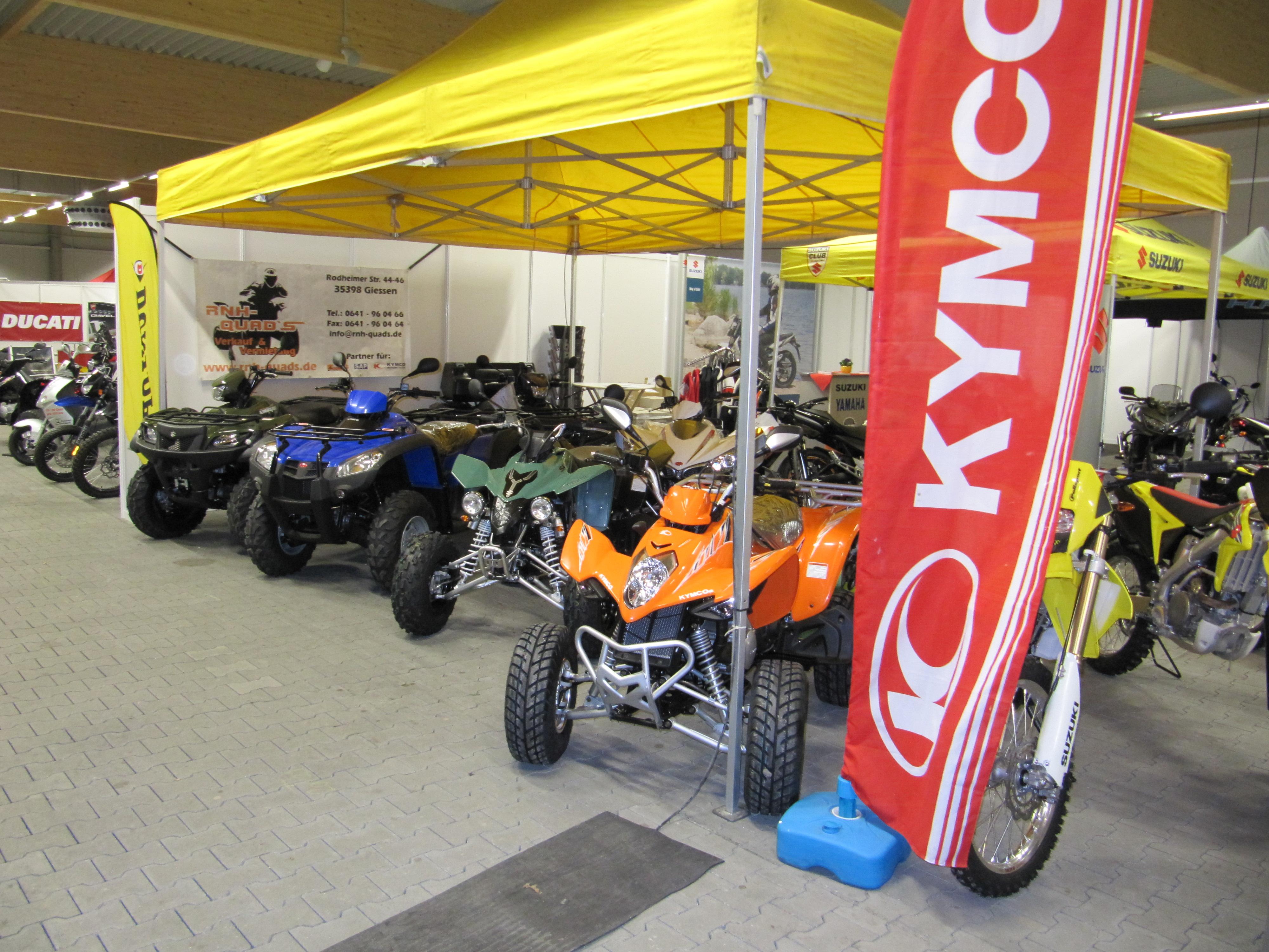 Motorradmesse Gießen Stand 2013